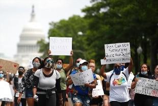 Caso Floyd: a Washington aumenta partecipazione a cortei