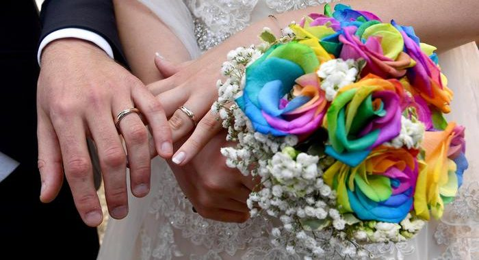 Cei, nozze senza mascherine per sposi