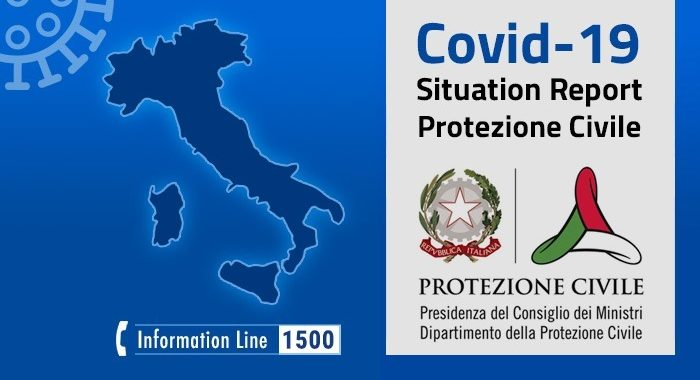 Covid-19, situation report update at 1 June 2020 18.00