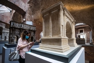 """Mostre. Ai Mercati di Traiano riapre """"Roma antica modello di città"""""""