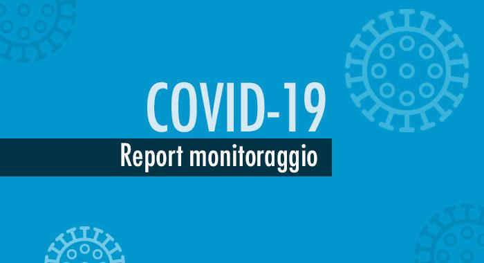 Report monitoraggio settimanale Covid-19: bassa criticità, ma in alcune aree casi in aumento