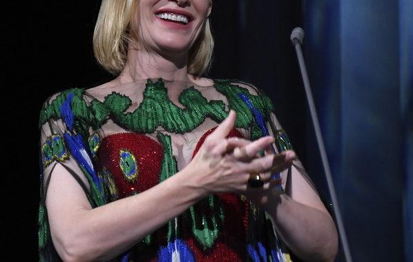 Cate Blanchett, a Rosi volevamo dare un premio speciale