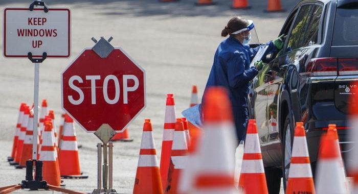 Coronavirus: ieri 1.293 morti, record Usa da 1 mese