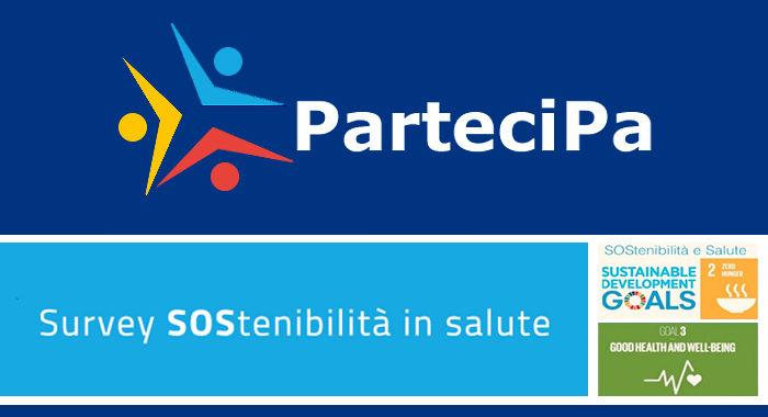 ParteciPA, i questionari della Survey SOStenibilità in salute disponibili on line fino al 15 settembre 2020