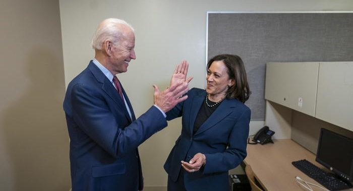 Usa 2020: sondaggio Fox, Biden-Harris avanti di 5 punti