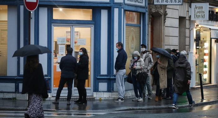 Covid: Francia record, oltre 20.000 contagi in 24 ore