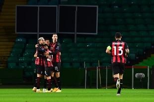 Europa League. Il Milan espugna il Celtic Park, 3-1 firmato da Krunic, Diaz e Hauge