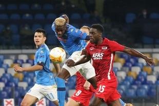 Europa League, tonfo Napoli con l'Az Alkmaar (0-1)