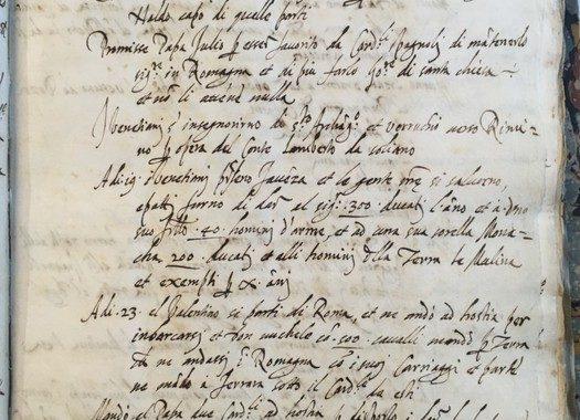 Machiavelli, spunta un inedito in Biblioteca nazionale Firenze