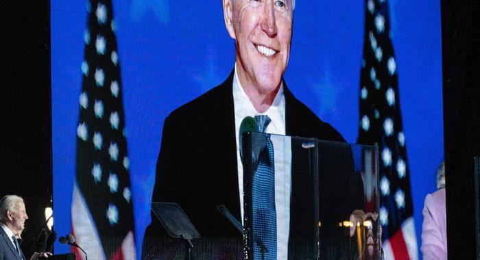 Biden, è chiaro che vinceremo abbastanza voti