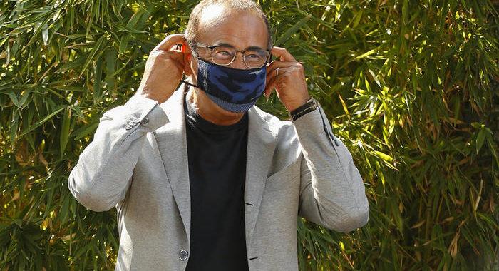 Carlo Conti dimesso dall'ospedale di Careggi