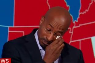 Biden presidente, il commentatore della Cnn in lacrime in diretta tv