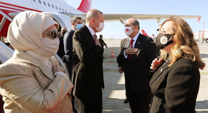 Erdogan: a Cipro due popoli e due stati separati