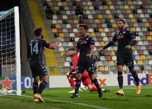 Europa League, Napoli vittorioso a Rijeka (1-2)