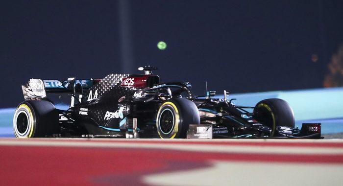 F1: Bahrain; vince Hamilton, 10/a Ferrari Leclerc