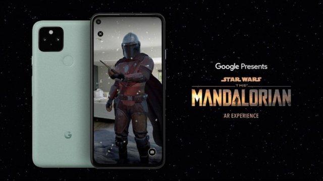 Il Mandalorian in realtà aumentata con una app