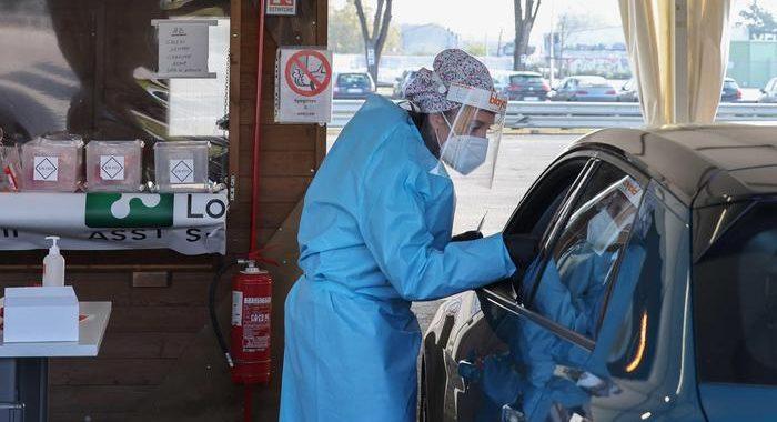 In Lombardia cala rapporto positivi/tamponi, 152 morti