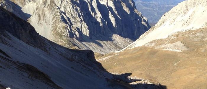 Incidente sul Gran Sasso,16enne alpinista gravissimo