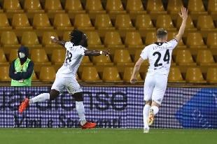 Lo Spezia batte e scavalca il Benevento: al 'Vigorito' è 0-3