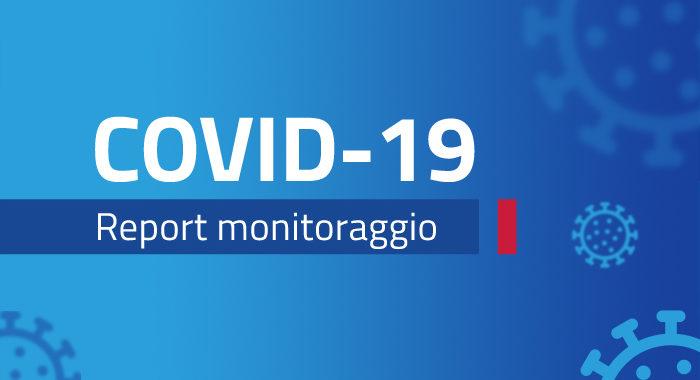 Monitoraggio settimanale Covid-19, report 2 – 8 novembre