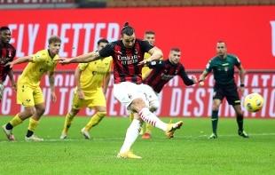 Serie A. Ibrahimovic sbaglia un rigore, poi pareggia in extremis. Verona rimontato da 0-2 a 2-2