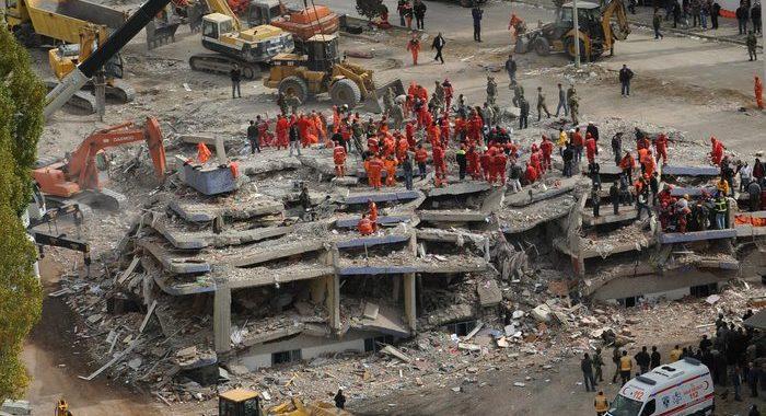 Sisma Egeo: Erdogan, bilancio salito a 110 vittime