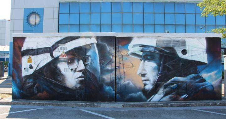 Street Art, il progetto di E-Distribuzione