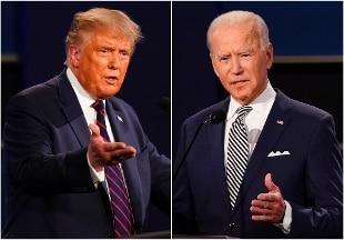 """Trump ai fan: """"Dovete ribaltare risultati voto"""". Biden: """"Elezioni libere, rispettare risultato"""""""