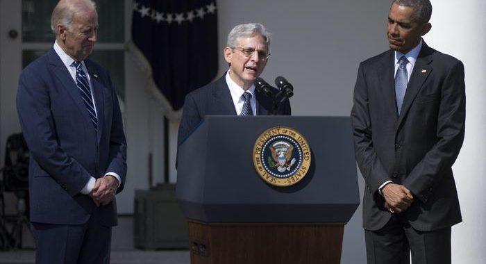 Usa: Biden valuta Merrick Garland per la Giustizia