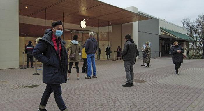 A Washington Apple store chiusi fino al 21 gennaio