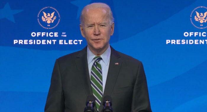 Biden firmera' i primi decreti già all'Inauguration Day