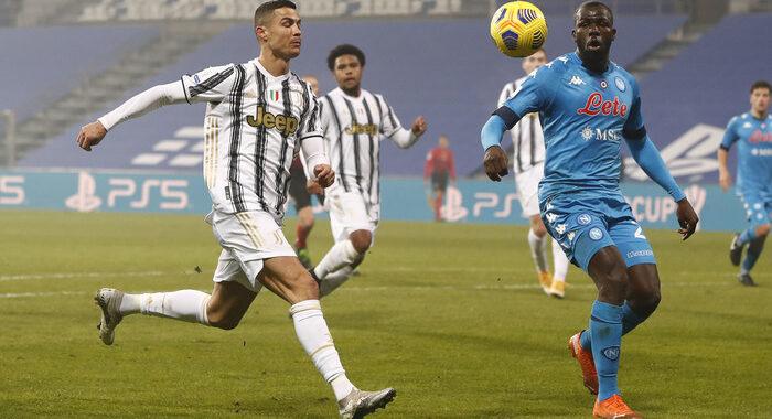 La Juventus vince la Supercoppa, Napoli battuto 2-0