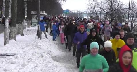 Russia, a Yaroslavl la corsa degli astemi