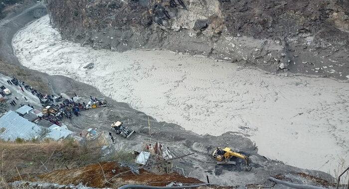 India: 7 i morti accertati finora nel crollo del ghiacciaio