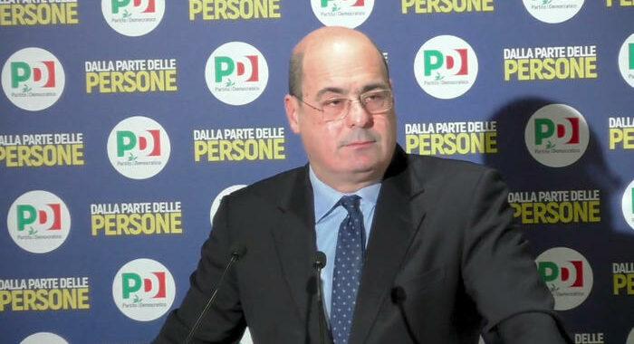 Pd: Zingaretti, a favore di vicesegretario donna