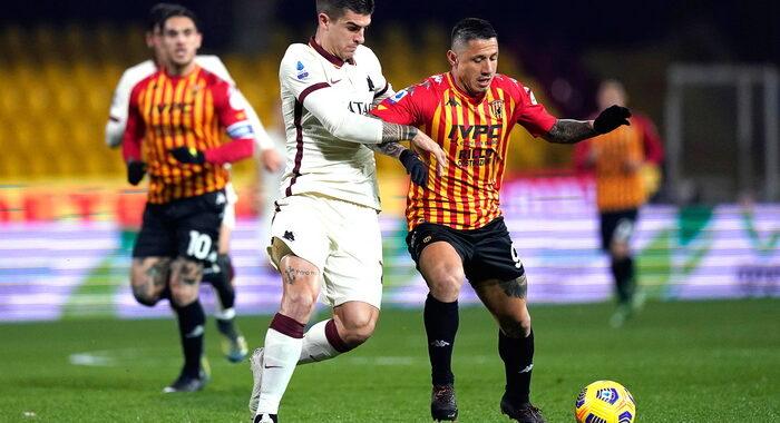 Serie A: Benevento-Roma 0-0