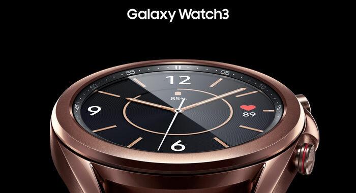 Smartwatch Samsung misurano pressione ed ECG