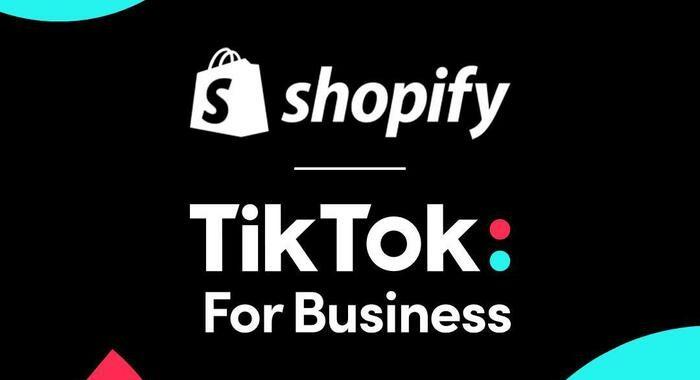 TikTok e la piattaforma di eCommerce Shopify si alleano