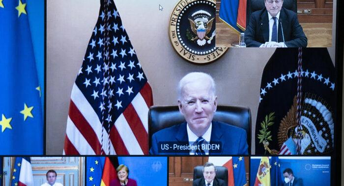Ambasciata Usa, 'c'è sintonia tra Biden e Draghi'