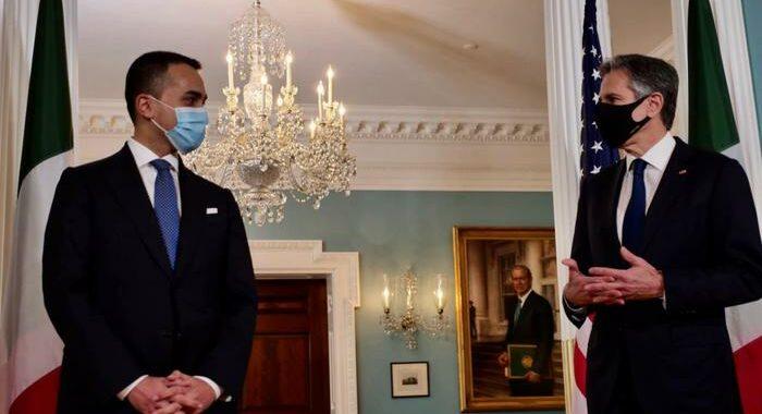 Di Maio in Usa, verso una più forte collaborazione in Libia
