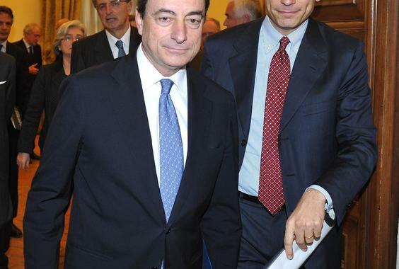 Draghi vede Letta, punto su situazione economica