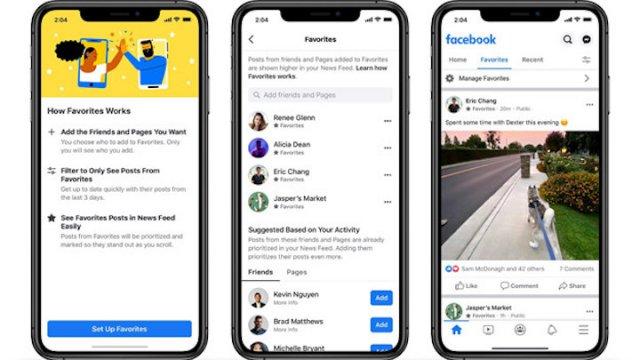 Facebook offre maggior controllo sul proprio feed