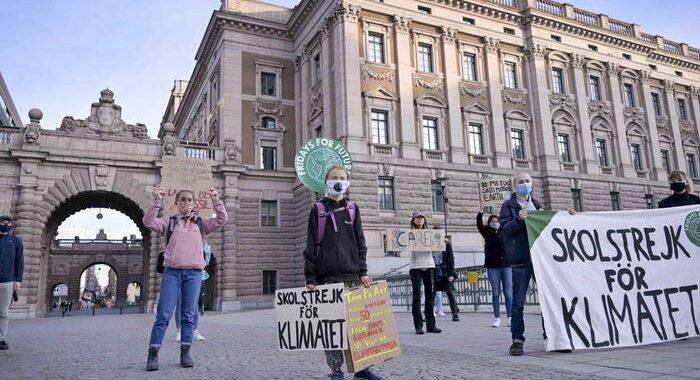 Greta dona 100 mila euro all'Oms per i vaccini ai Paesi poveri