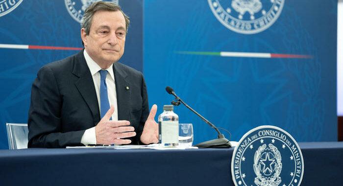Recovery: Draghi vede partiti, domani a P. Chigi M5S e Lega
