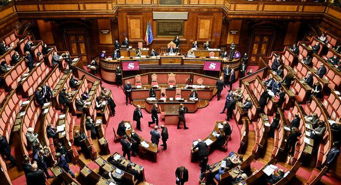 Recovery: Senato, comunicazioni Draghi in Aula il 27/4