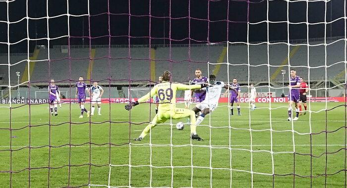 Serie A: Fiorentina-Atalanta 2-3
