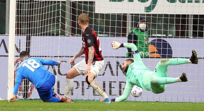 Serie A: Milan-Sassuolo 1-2