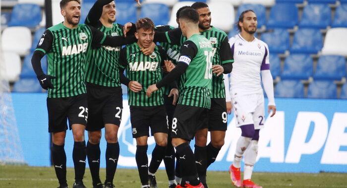 Serie A: Sassuolo-Fiorentina 3-1