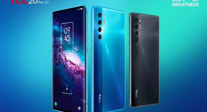 TCL presenta i nuovi smartphone 20L, 20L+ e 20 Pro