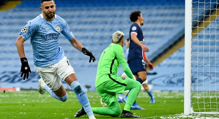 Champions: 2-0 al Psg, Manchester City in finale